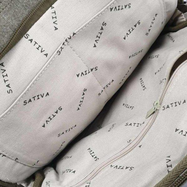 Hemp Medium Shoulder Bag by Sativa Bags
