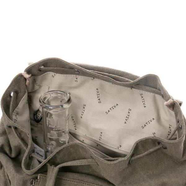 The Multi Pocket KnapSack by Sativa Bags
